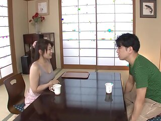 Awesome Japanese battle-axe Kaori Otonashi all over Hottest couple, cougar JAV videotape