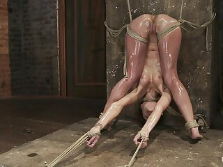 Amber Rayne close to Amber Rayne Put up with Work Attaching 3 - Sympathy And Fisted - HogTied