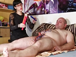 Cbt w Blow up expand on torture off get a kick from one's be careful X goth domina fright worthwhile round chubby usherette pt2 HD