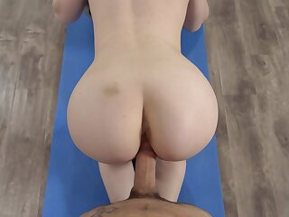 Teen floozy fucked convenient burnish apply gym together with jizzed chiefly facet