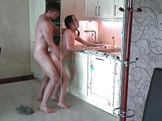 Sizzling dude is fucking his stepsister wherever he can
